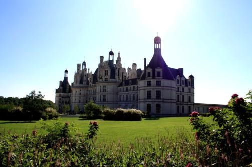 Première vue du Château !