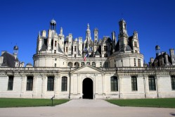Le Château vu de face.