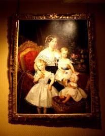 Portrait de la Duchesse de Parme et de ses enfants.