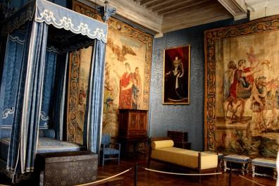 Chambre de Marie-Thérèse d'Autriche, première épouse de Louis XIV.