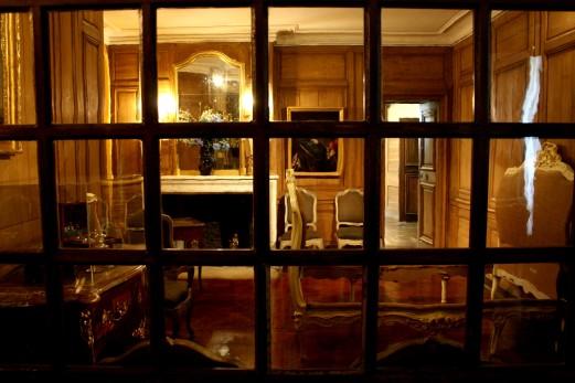 Chambre privée de l'appartement de parade.