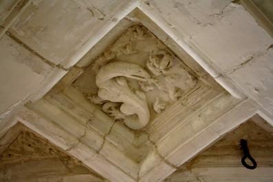 La Salamandre, emblème de François Ier.