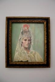 Olga à la mantille