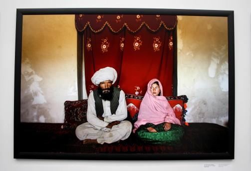 Ghulam, 11ans, avant son mariage avec un homme de 40ans. (Afghanistan)