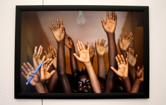 Salle de classe de Don Bosco Fambul, une organisation qui aide les enfants en état d'urgence.
