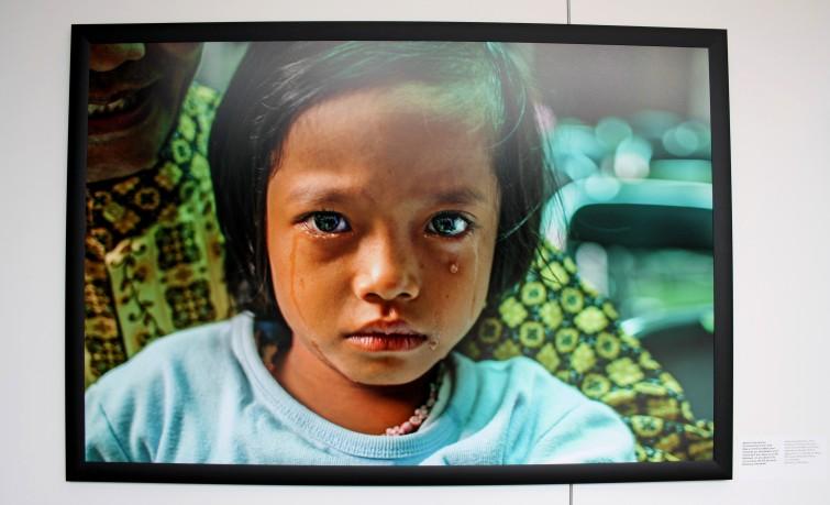 Après l'intervention. Ce dimanche matin, 200 filles ont été excisées dont certaines avaient moins de 5ans. (Indonésie)