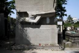 Tombe de l'écrivain Oscar Wilde