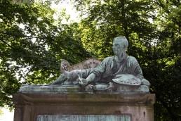 Statue de Géricault