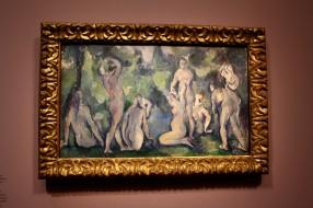 Les baigneuses de Cézanne