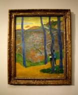 Les arbres bleus de Gauguin