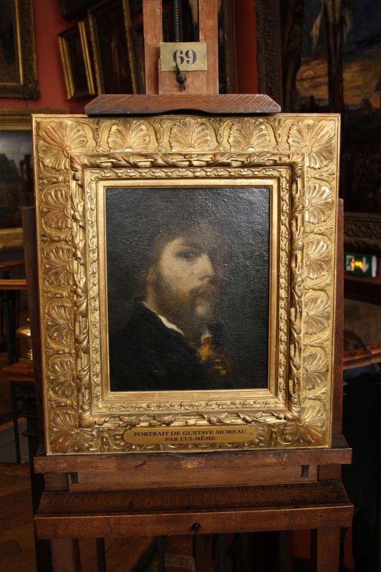 Portrait de Gustave Moreau