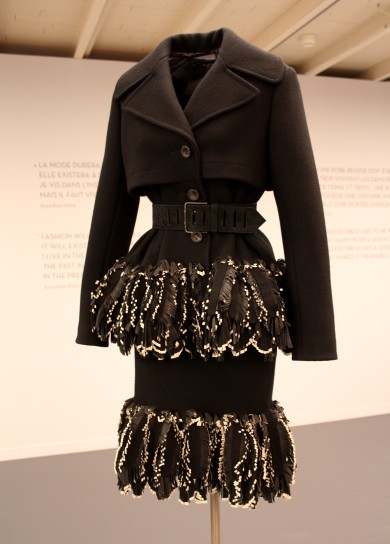 Manteau inspiration tailleur ALAIA
