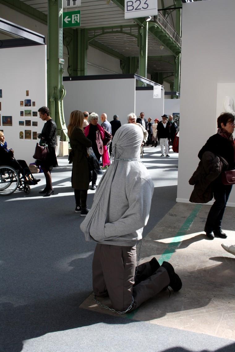 Oeuvre contemporaine Art Paris Art Fair 2019