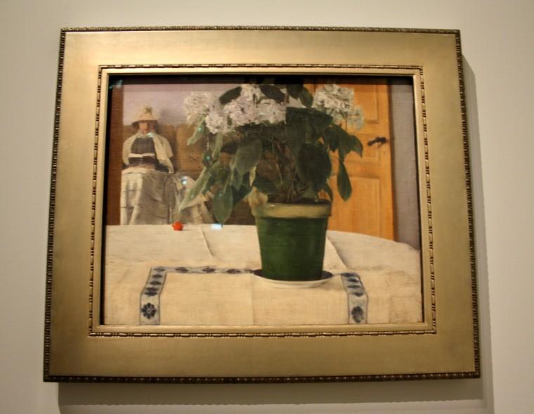 Paysage Fernand Khnopff