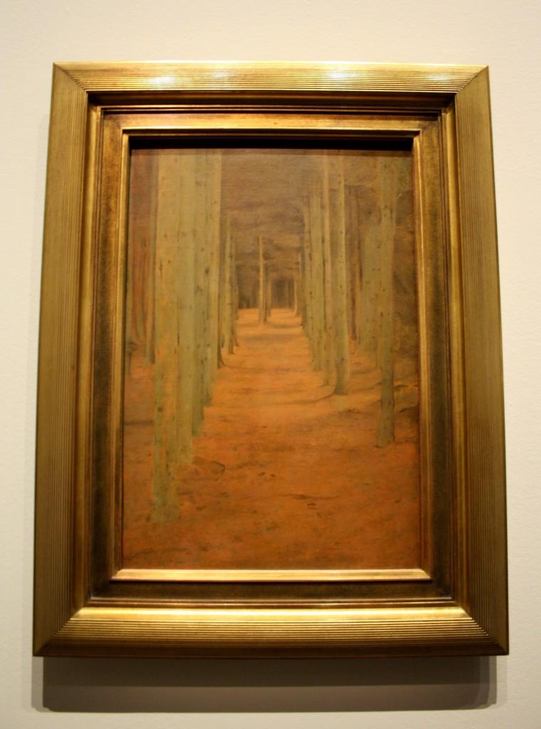 Paysage mystique Fernand Khnopff