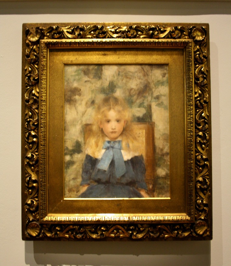 Portrait de Mademoiselle Van der Hecht