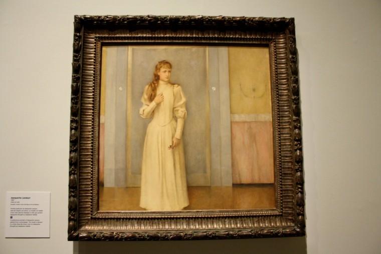 Portrait de Marguerite Khnopff