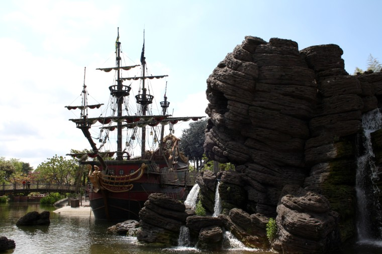 Bateau Pirates DisneylandParis