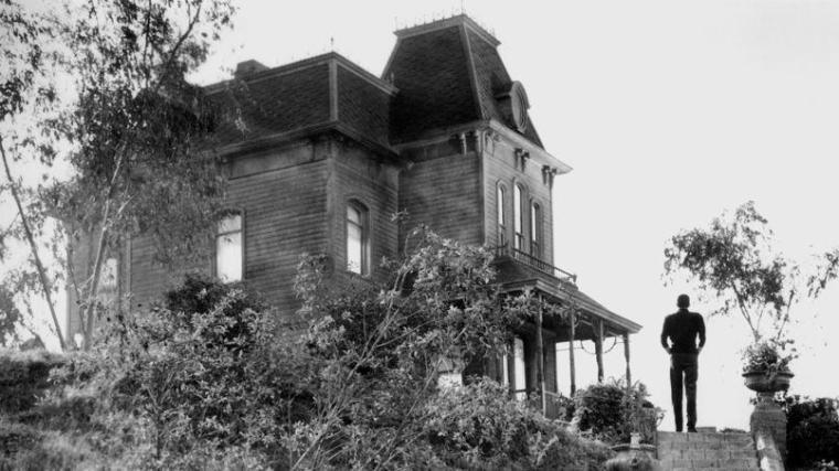 Hitchock Psychose Maison hantée
