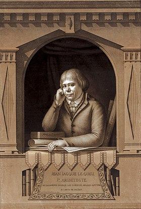 Jean Jacques Lequeu Autoportrait
