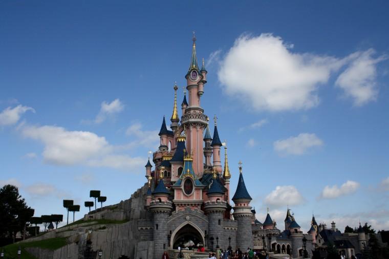 Le château de la Belle au Bois Dormant de Disneyland Paris