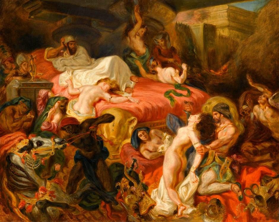 Delacroix La Mort de Sardanapale