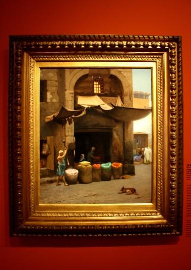 Le Marchand des couleurs, Gérome, 1890-1891