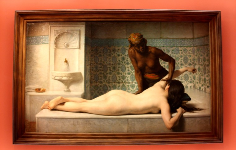 Le Massage, Scène de Hamman, Ponsan, 1843