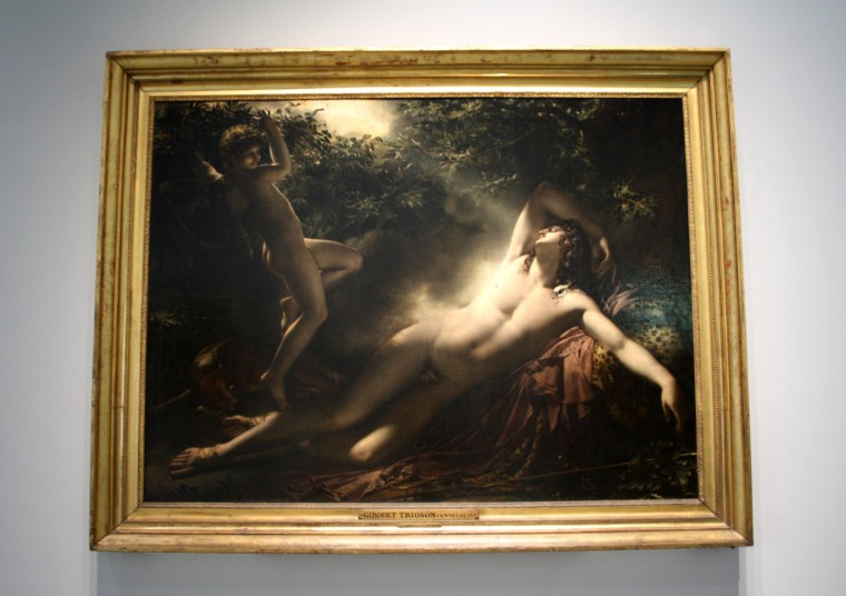 Le sommeil d'Endymion, Girodet