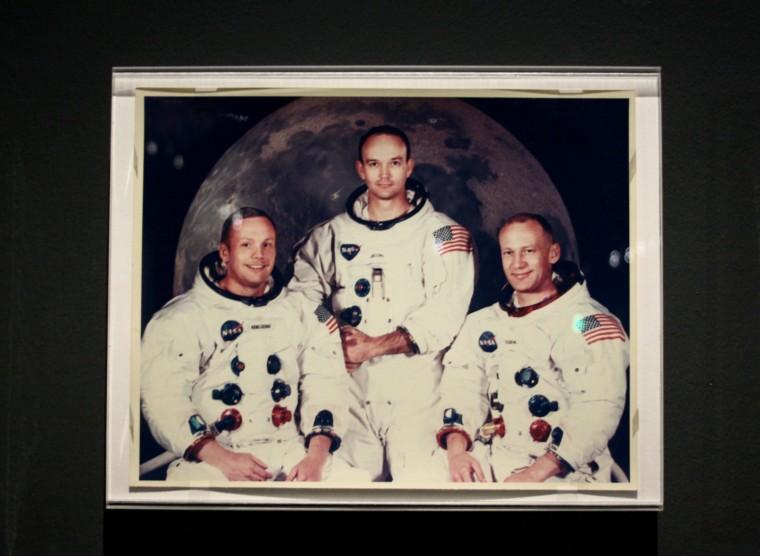 Neil Armstrong, Buzz Aldrin et Michael Collins