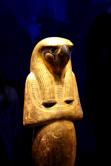 Statuette retrouvée en même temps que Toutankhamon