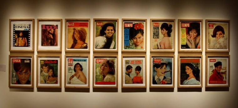 Claudia Cardinale et ses nombreuses couvertures de magazine