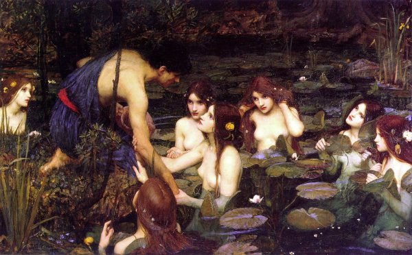 Hylas et les nymphes, Waterhouse