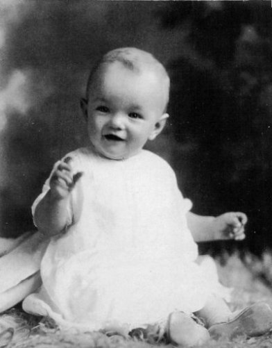 Marilyn Monroe enfant 1