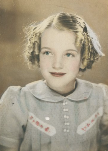 Marilyn Monroe enfant
