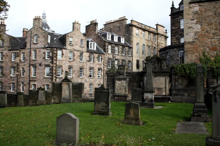 Cimetière d'Edimbourg