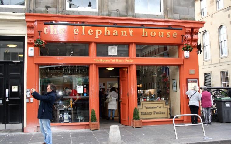Elephant House, birthplace of Harry Potter