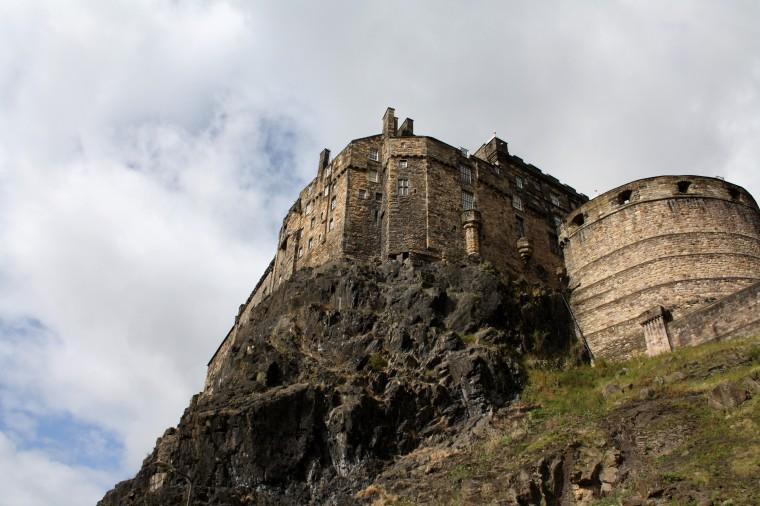 Le chateau d'edimbourg (2)