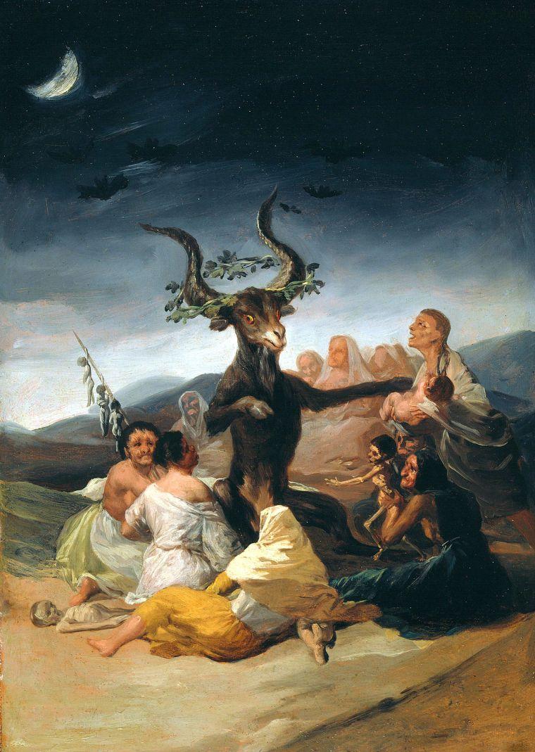Le Sabbat des Sorcières, Goya, 1798