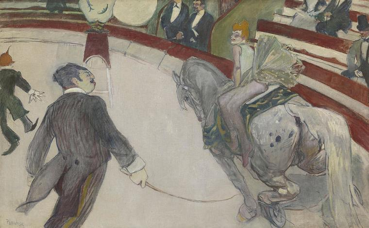 Toulouse Lautrec le cirque Fernando