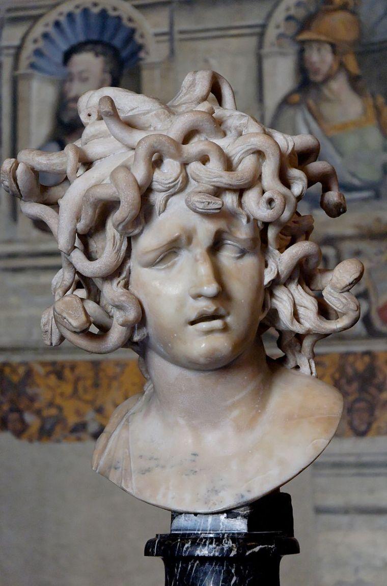 Meduse, Bernini, 1630-40