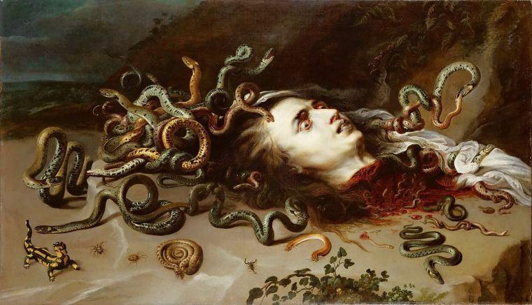 Meduse, Pierre Paul Rubens, 1618