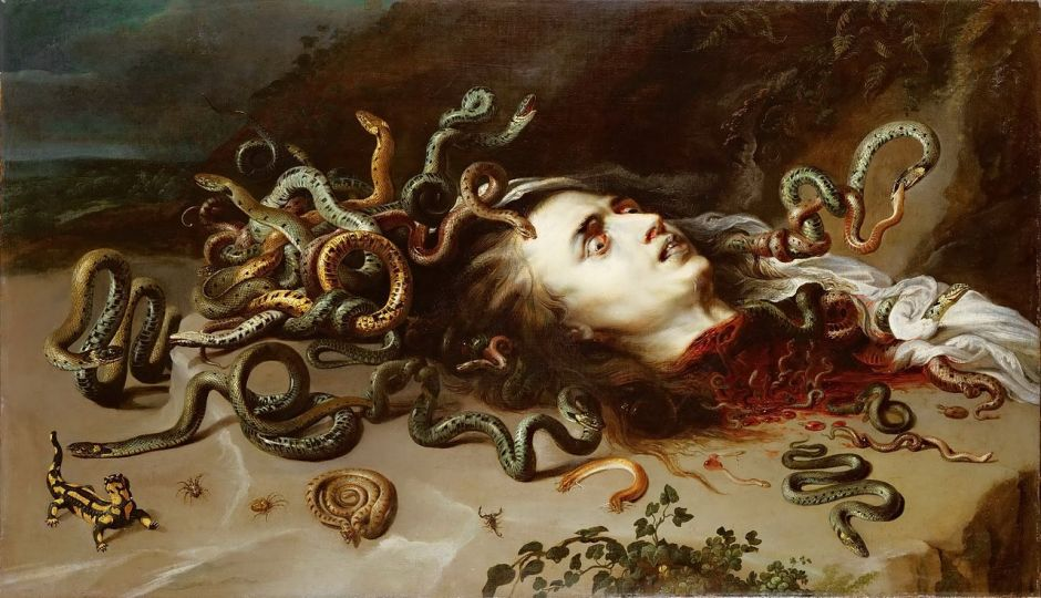 Meduse, Pierre Paul Rubens, 1618