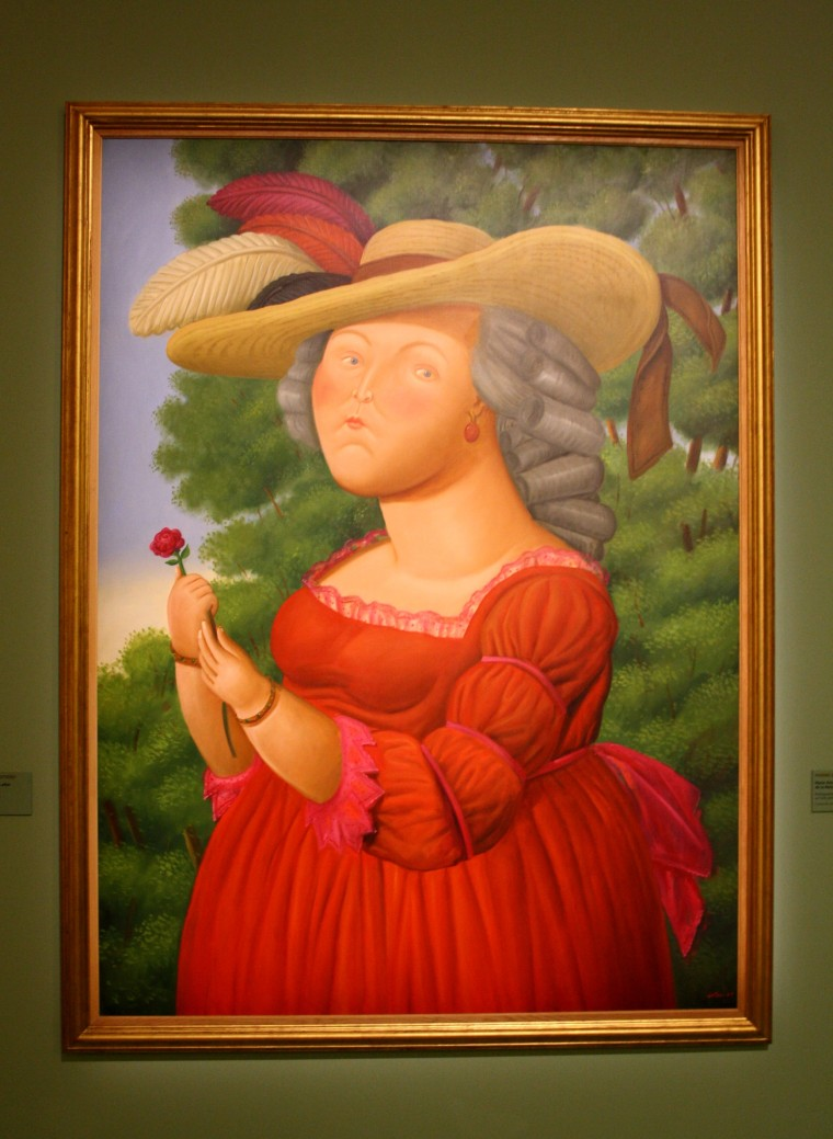 Marie-Antoinette, Botero, 2005