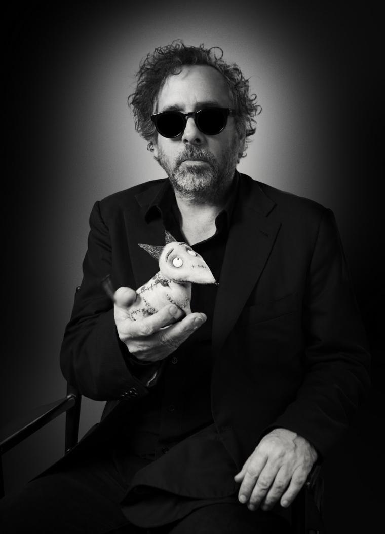 Tim Burton et Sparky, 2012