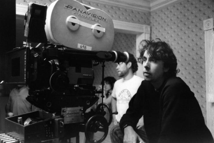 Tim Burton derrière la caméra