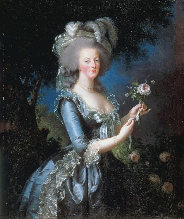 Marie-Antoinette, Vigée Lebrun, 1783