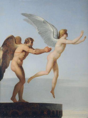 Icare et Dédale, Landon, 1799