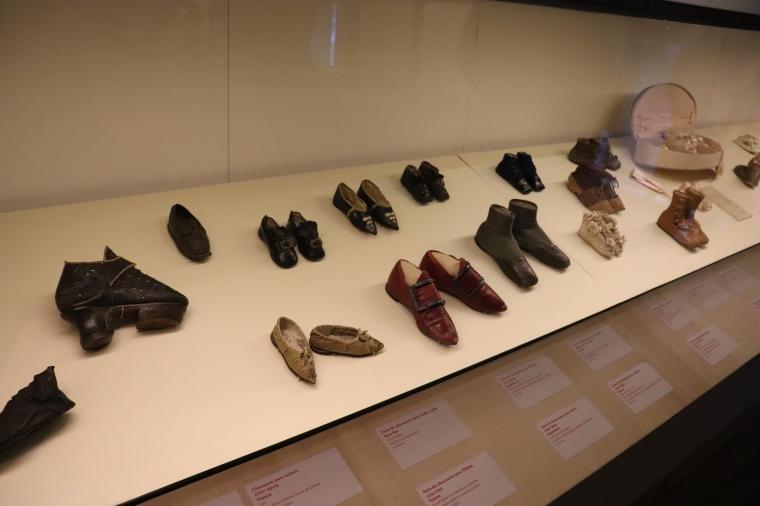 Chaussures d'enfants, Musée des Arts Décoratifs