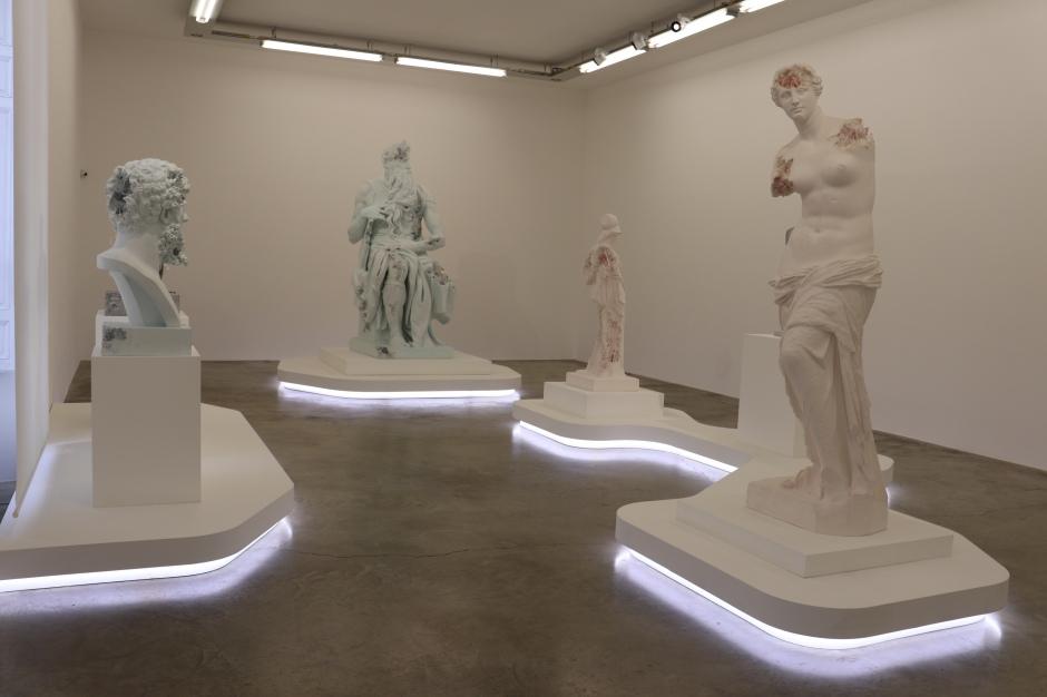 Daniel Arsham, Galerie Perrotin